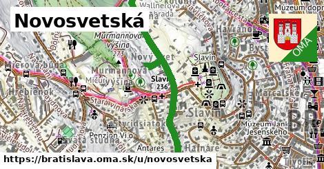 Novosvetská, Bratislava