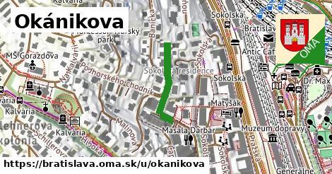 Okánikova, Bratislava