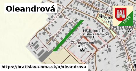 Oleandrová, Bratislava