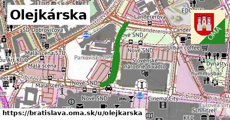 Olejkárska, Bratislava