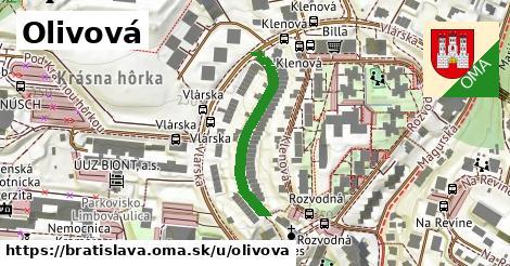 ilustrácia k Olivová, Bratislava - 271m
