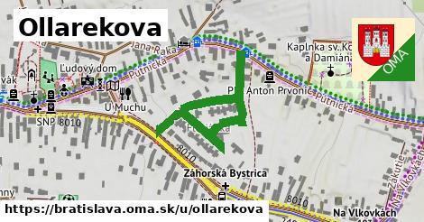 Ollarekova, Bratislava