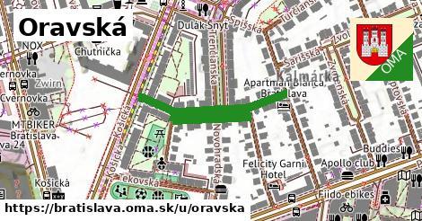 Oravská, Bratislava