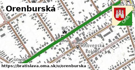 Orenburská, Bratislava