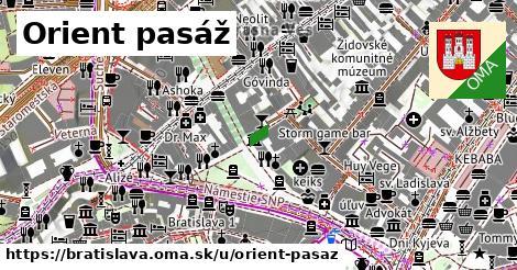 Orient pasáž, Bratislava