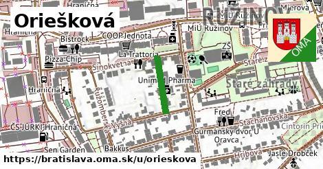 Oriešková, Bratislava