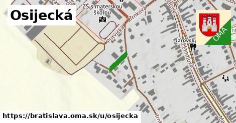 Osijecká, Bratislava