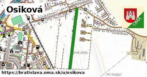 ilustrácia k Osiková, Bratislava - 629m