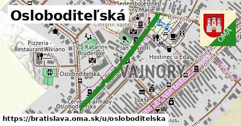 Osloboditeľská, Bratislava