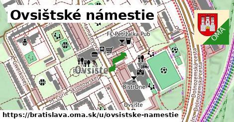 Ovsištské námestie, Bratislava