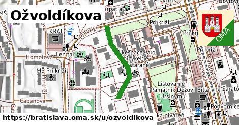 Ožvoldíkova, Bratislava