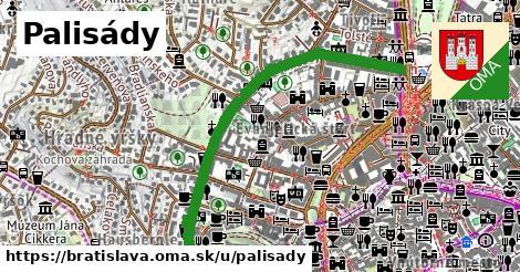 Palisády, Bratislava