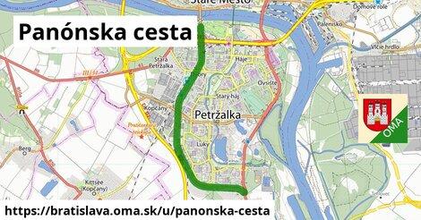 Panónska cesta, Bratislava