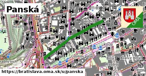 Panská, Bratislava