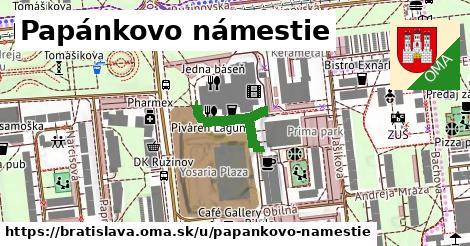 Papánkovo námestie, Bratislava