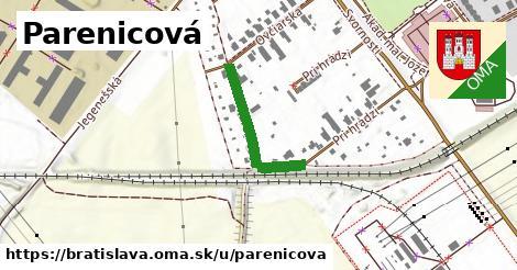 Parenicová, Bratislava