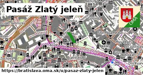 Pasáž Zlatý jeleň, Bratislava