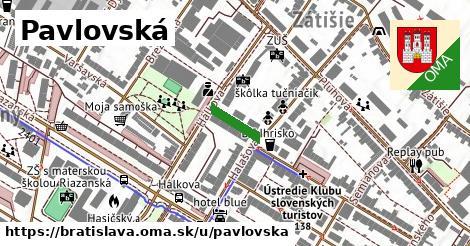 Pavlovská, Bratislava