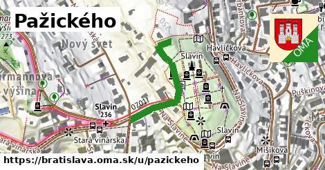 Pažického, Bratislava