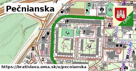 Pečnianska, Bratislava