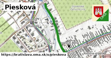 Piesková, Bratislava