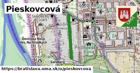 Pieskovcová, Bratislava
