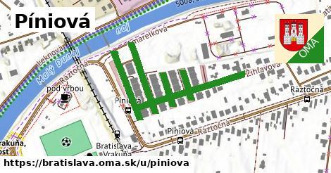 Píniová, Bratislava