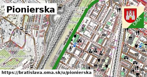 ilustrácia k Pionierska, Bratislava - 1,45km