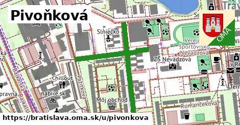 Pivoňková, Bratislava
