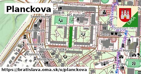 Planckova, Bratislava