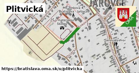 Plitvická, Bratislava