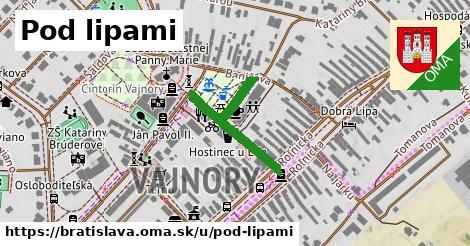 ilustrácia k Pod lipami, Bratislava - 277m