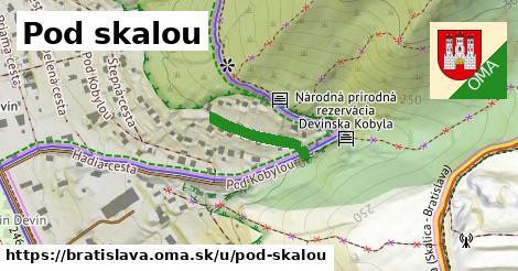 ilustrácia k Pod skalou, Bratislava - 157m