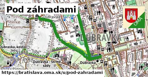 ilustrácia k Pod záhradami, Bratislava - 1,42km
