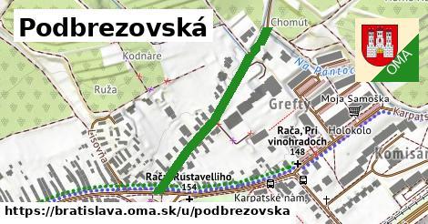 Podbrezovská, Bratislava