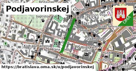 Podjavorinskej, Bratislava
