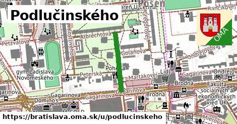 Podlučinského, Bratislava