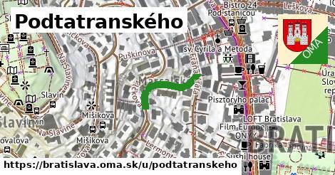 Podtatranského, Bratislava