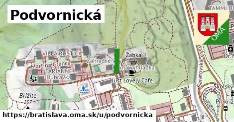 Podvornická, Bratislava