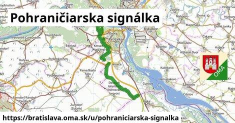 ilustrácia k Pohraničiarska signálka, Bratislava - 24km