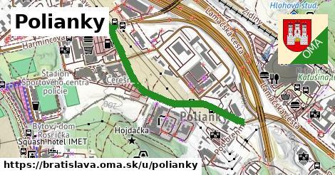 Polianky, Bratislava