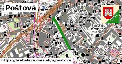 Poštová, Bratislava
