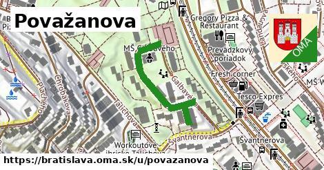 Považanova, Bratislava