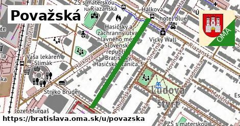 ilustrácia k Považská, Bratislava - 329m