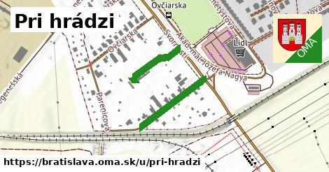 Pri hrádzi, Bratislava
