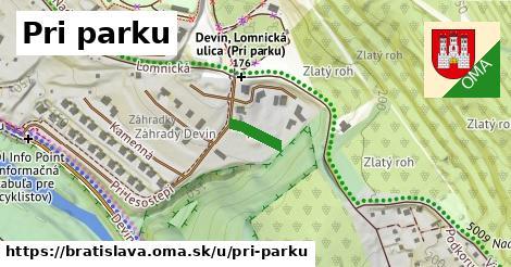 ilustrácia k Pri parku, Bratislava - 56m