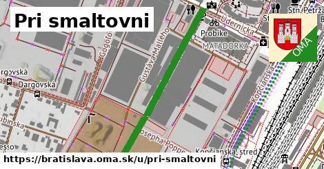 Pri smaltovni, Bratislava