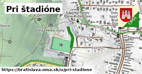 Pri štadióne, Bratislava