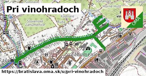 Pri vinohradoch, Bratislava