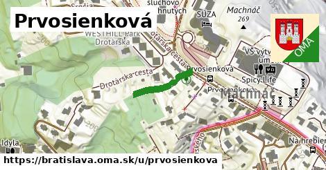 Prvosienková, Bratislava